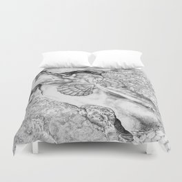 The Mermaid Duvet Cover
