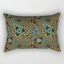 Boho Floral Pattern 17 Rectangular Pillow