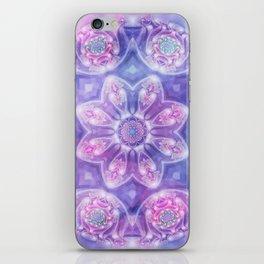 Daydream Mandala in Purple, Blue and Pink iPhone Skin