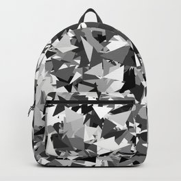 Gray urban camouflage Backpack