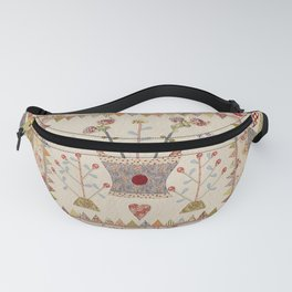 Hearts and Vases Quilt Fanny Pack