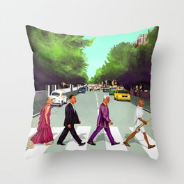 HIPSTORY - Come Together Throw Pillow