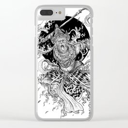 Hanuman Clear iPhone Case