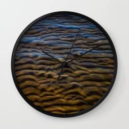 Sandwaves Wall Clock