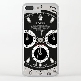 Rolex Cosmograph Daytona Face - 116520 Clear iPhone Case