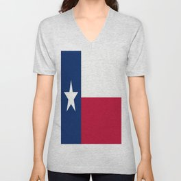 Lone Star ⭐ Texas State Flag Unisex V-Neck