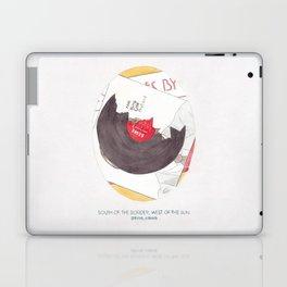 Haruki Murakami's South of the Border, West of the Sun Watercolour Novel Illustration Laptop & iPad Skin
