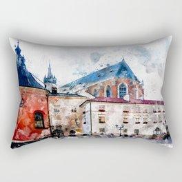 Cracow art 21 #cracow #krakow #city Rectangular Pillow