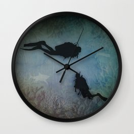 Scuba Divers Wall Clock