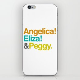 And Peggy iPhone Skin