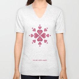 Valentine's Day Unisex V-Neck