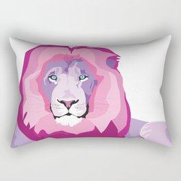 Lion (Atticus) Rectangular Pillow