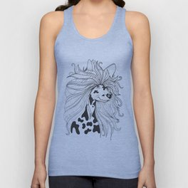 Chinese Crested Dog Unisex Tank Top