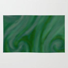 Green SWIRL Rug