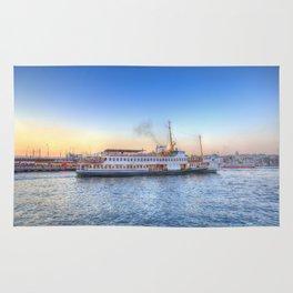 Pleasure Cruise Boat Istanbul Rug