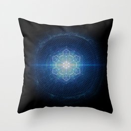 Sacred Geometry Throw Pillow