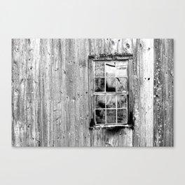 Grist Mill Window Canvas Print