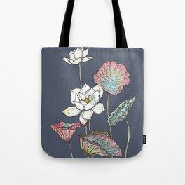 Lotus Symphony Tote Bag