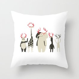Happy to be Canadian! Throw Pillow