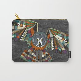 night owl charcoal Carry-All Pouch