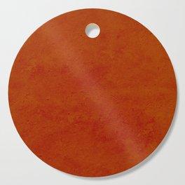 concrete orange brown copper plain texture Cutting Board