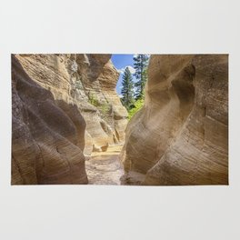 At the End of the Canyon - Grand Staircase of the Escalante - Utah Rug