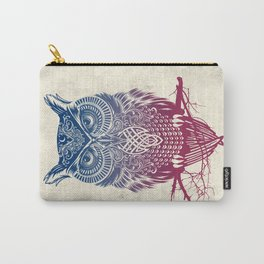 Evening Warrior Owl Carry-All Pouch