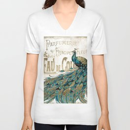 Peacock Jewels Unisex V-Neck