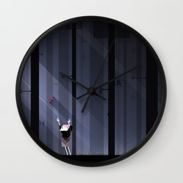 The Hatch Wall Clock