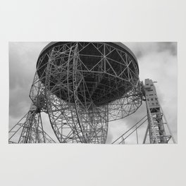 Lovell Telescope at Jodrell Bank Rug