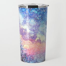 Galaxy Spring Night by CheyAnne Sexton Travel Mug