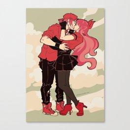 x-flavored-kiss-reds Canvas Print