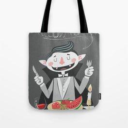 Vegan Vampire Tote Bag