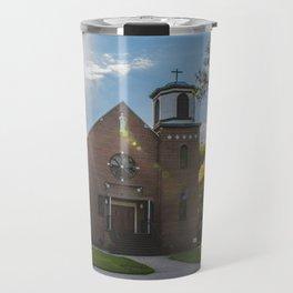 Holy Trinity Catholic Church, Fingal, North Dakota 3 Travel Mug