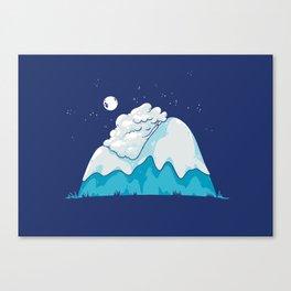 Cozy Mountain Canvas Print