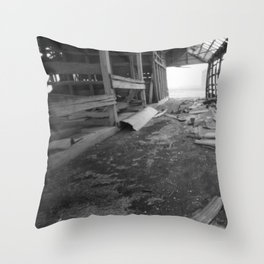 Rural Rot Throw Pillow