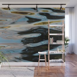 Abstract Water Surface Wall Mural