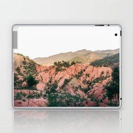 Orange mountains of Ourika Morocco   Atlas Mountains near Marrakech Laptop & iPad Skin