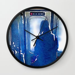 Contemplating the Commute Wall Clock