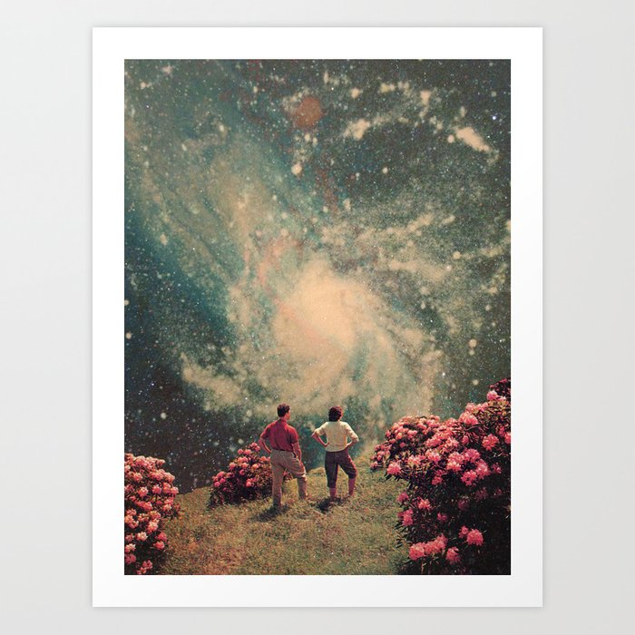 There will be Light in the End Art Print
