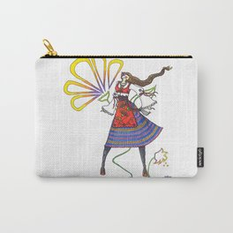 Folk Dancer Carry-All Pouch