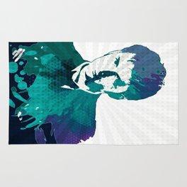 Tenth Doctor Color Splash Rug