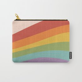 Rainbow Stripes 4 Carry-All Pouch