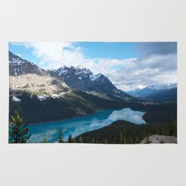 Peyto Lake, Banff National Park Rug