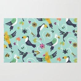 Tropical Birds Rug