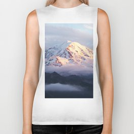 Marvelous Mount Rainier 2 Biker Tank