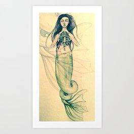 Merewif Art Print