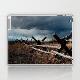 Storm & Fence Laptop & iPad Skin