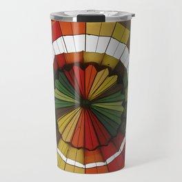 hot air balloon color Travel Mug