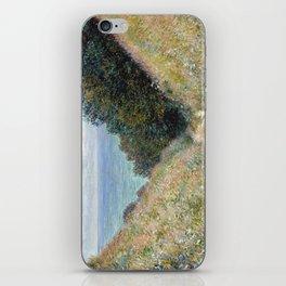 1882-Claude Monet-Road at La Cavée, Pourville-60 x 81 iPhone Skin